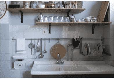 Riadattare una vecchia cucina e trasformarla