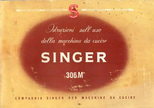 Manuale Singer 306M M10-M12