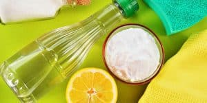 bagno con prodotti naturali