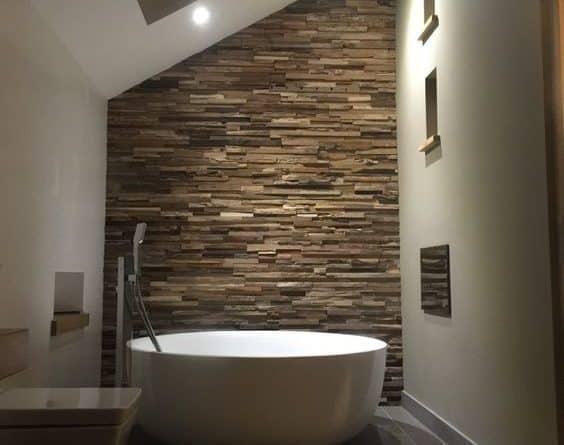 Bagno effetto pietra