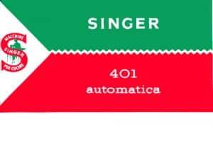 Copertina Singer 401